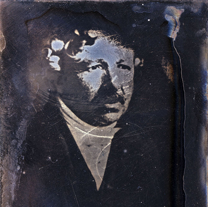 Louis Jacques Mande Daguerre, French photography pioneer, c 1840.